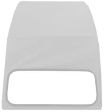 TOPCAR Capote 2CV grise anthracite EX1010N neuve avec ouverture extérieure