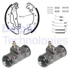 AVANT DELPHI Plaquettes de frein complet jeu pour Essieu complet PEUGEOT 305 1.9 1.8 1.9 Diesel 1.9 D