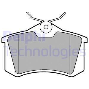 AVANT DELPHI Plaquettes de frein Seat Cordoba 1.4i 1.4i 16 V 1.4 1.4 16 V 1.6 1.6i 1.9 SDi